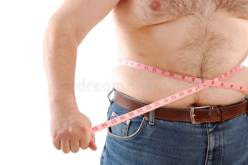 μέτρηση του BG κοιλιών στοκ εικόνα με δικαίωμα ελεύθερης χρήσης