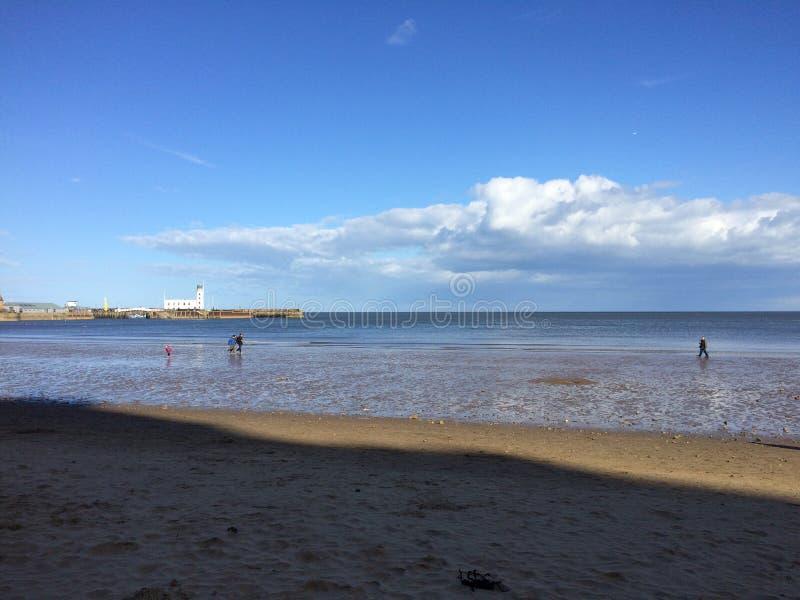 Μέτωπο θάλασσας Scarborough στοκ φωτογραφίες