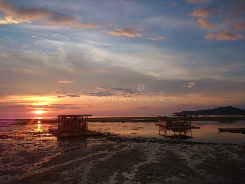 Μέτωπο παραλιών Batangas Matabungkay στοκ φωτογραφία με δικαίωμα ελεύθερης χρήσης