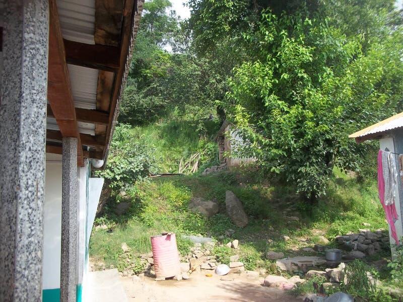 Μέτωπο σπιτιών σε ένα χωριό στοκ εικόνα με δικαίωμα ελεύθερης χρήσης