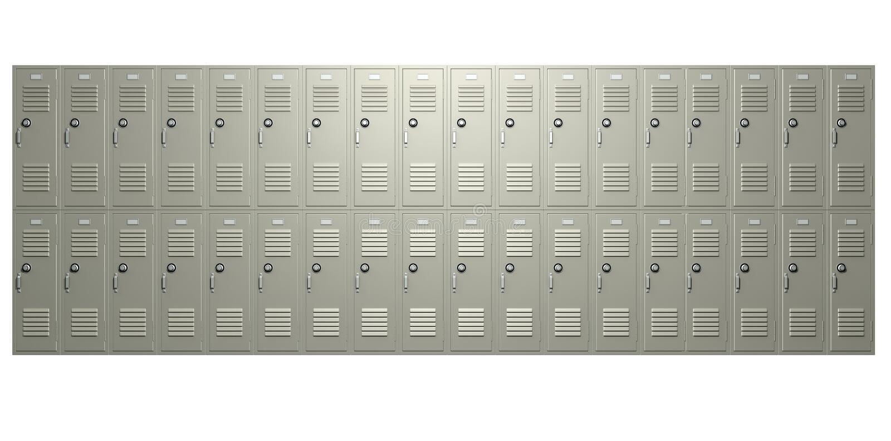Μέτωπο σχολικών ντουλαπιών