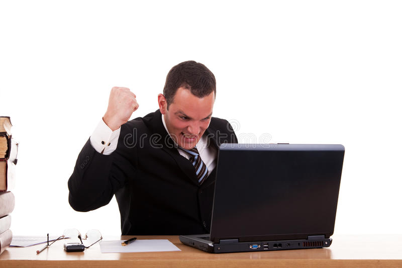 μέτωπο υπολογιστών επιχ&epsi στοκ φωτογραφίες με δικαίωμα ελεύθερης χρήσης