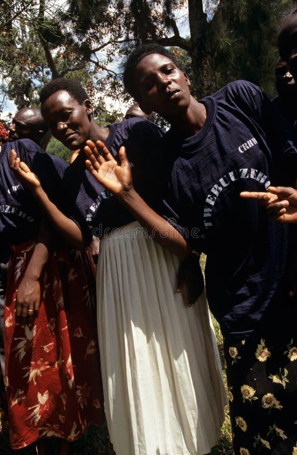 Μέλη των κοινοτικών αναπαραγωγικών εργαζομένων στον ιατρικό κλάδο, Ουγκάντα στοκ φωτογραφίες