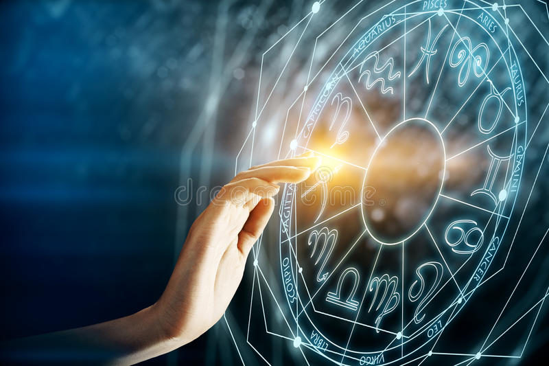 Μέλλον και έννοια Διδυμων απεικόνιση αποθεμάτων