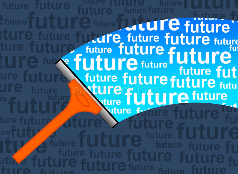 Μέλλον ελεύθερη απεικόνιση δικαιώματος