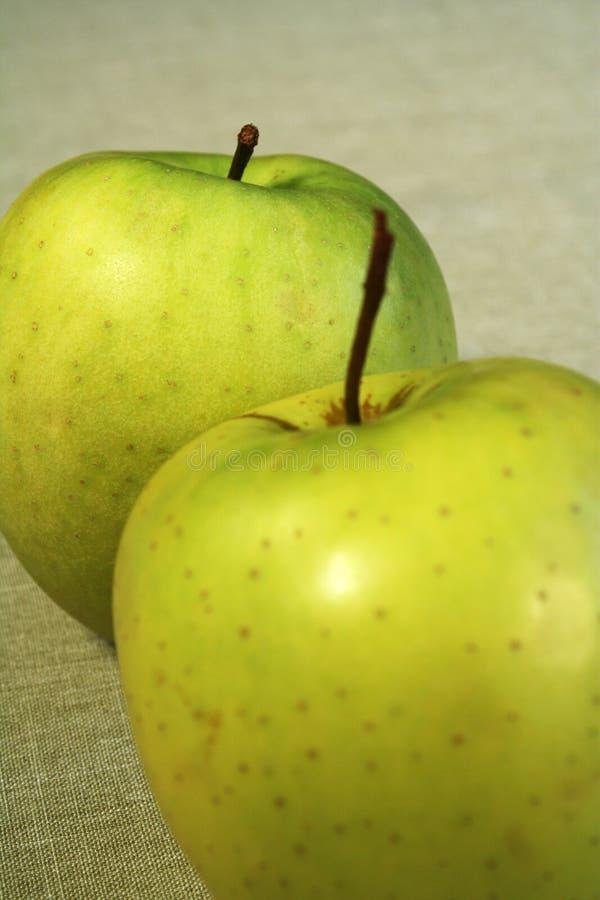 μήλα δύο στοκ εικόνα με δικαίωμα ελεύθερης χρήσης