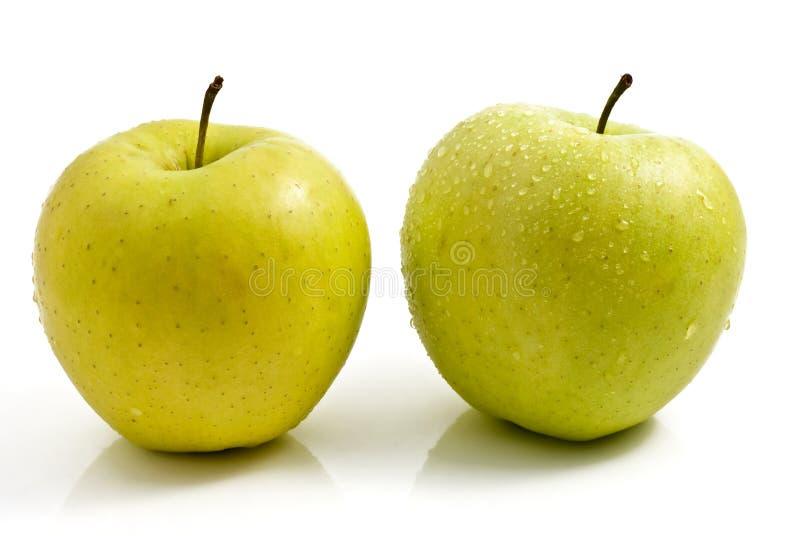 μήλα πράσινα που απομονώνε στοκ φωτογραφία με δικαίωμα ελεύθερης χρήσης