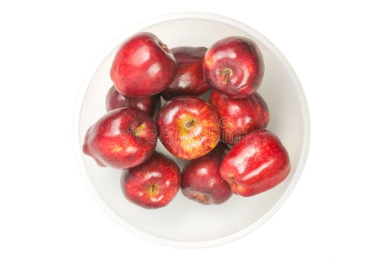 μήλα φρέσκα πολύ κόκκινο στοκ εικόνες με δικαίωμα ελεύθερης χρήσης