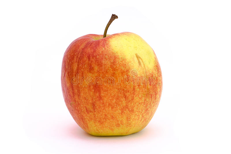 μήλο ένα κόκκινος κίτρινο&sigmaf στοκ εικόνες με δικαίωμα ελεύθερης χρήσης