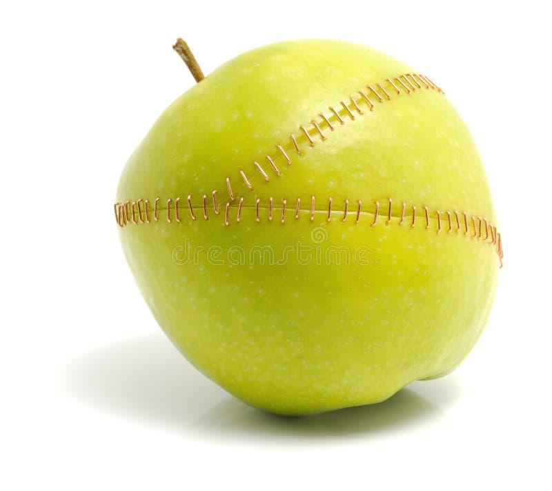 μήλο επεξεργασμένο στοκ εικόνες