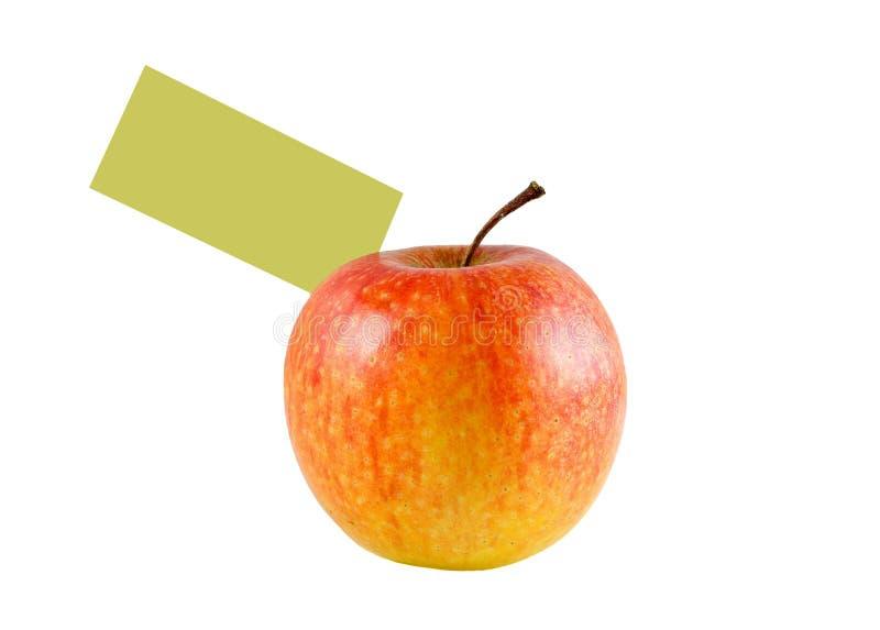 Download μήλο στοκ εικόνες. εικόνα από πράσινος, ετικέττα, φρέσκος - 13187202