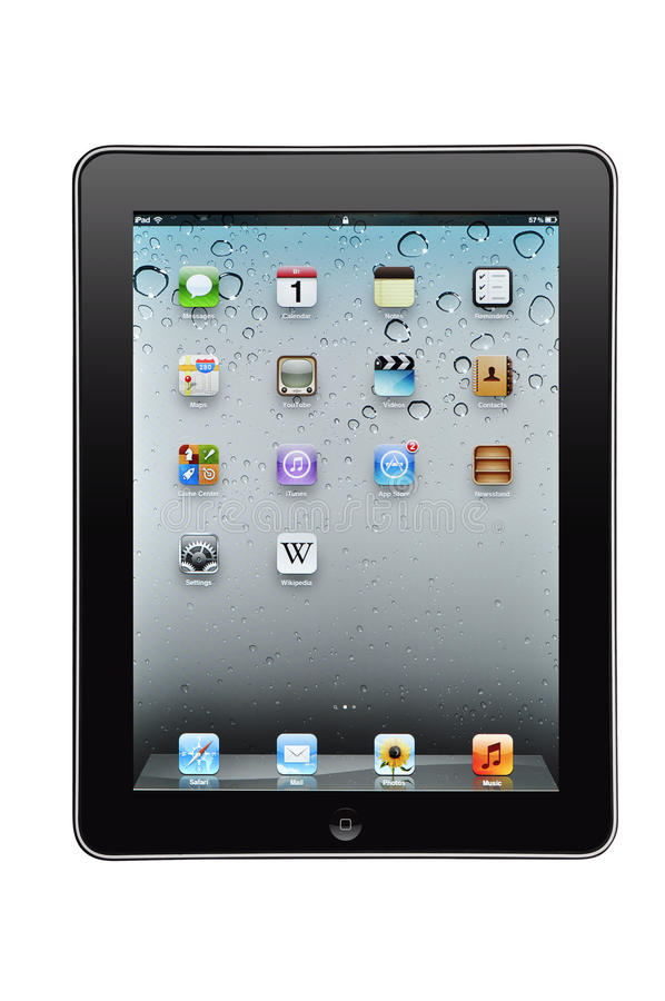μήλο ipad στοκ φωτογραφία με δικαίωμα ελεύθερης χρήσης
