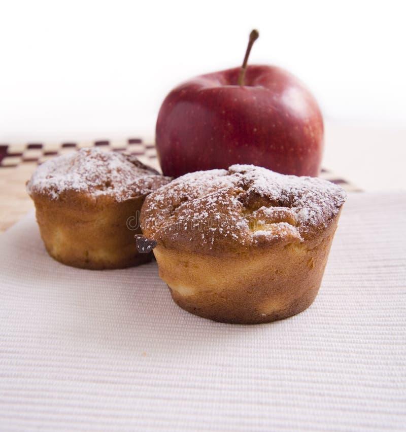 μήλο souffl στοκ φωτογραφίες
