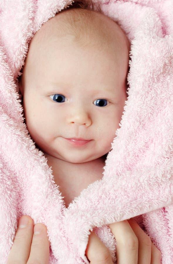 μήνας μωρών παλαιός στοκ εικόνα