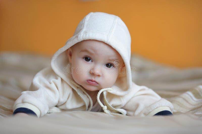 μήνας παλαιά έξι κοριτσακι στοκ εικόνα με δικαίωμα ελεύθερης χρήσης