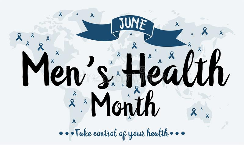 Μήνας υγείας ατόμων ` s απεικόνιση αποθεμάτων