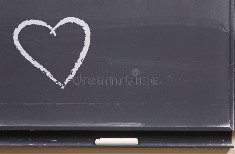 μήνυμα αγάπης χαρτονιών στοκ φωτογραφία