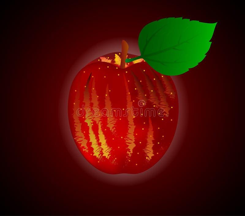 μήλο ώριμο ελεύθερη απεικόνιση δικαιώματος