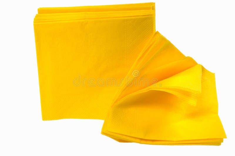μίας χρήσης έγγραφο πετσετών στοκ εικόνα