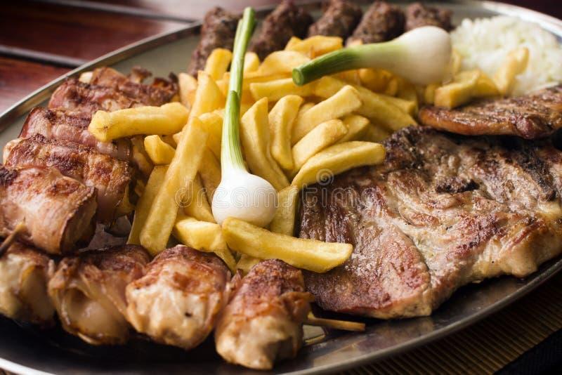 Μίγμα κρέατος χοιρινού κρέατος στοκ εικόνα
