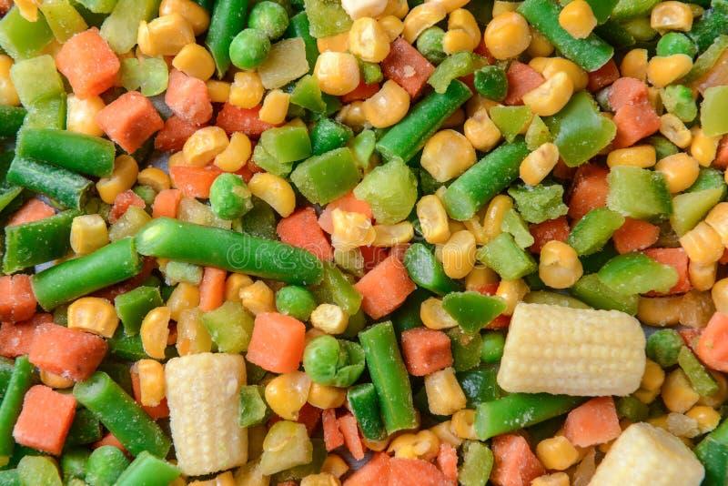 Μίγμα των παγωμένων λαχανικών στοκ φωτογραφία με δικαίωμα ελεύθερης χρήσης