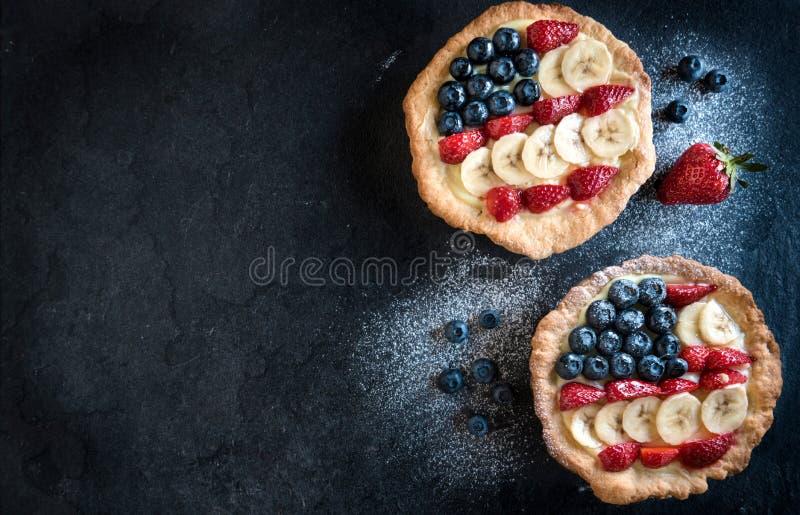 Μίνι αμερικανικές πίτες στοκ φωτογραφία