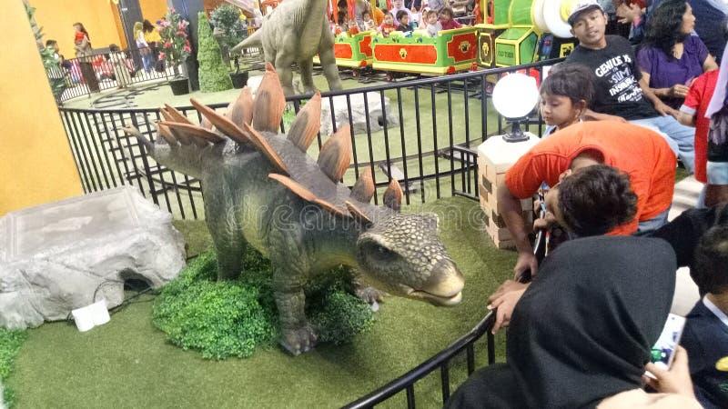 Μίνι δεινόσαυρος Stegosaur στοκ φωτογραφίες με δικαίωμα ελεύθερης χρήσης