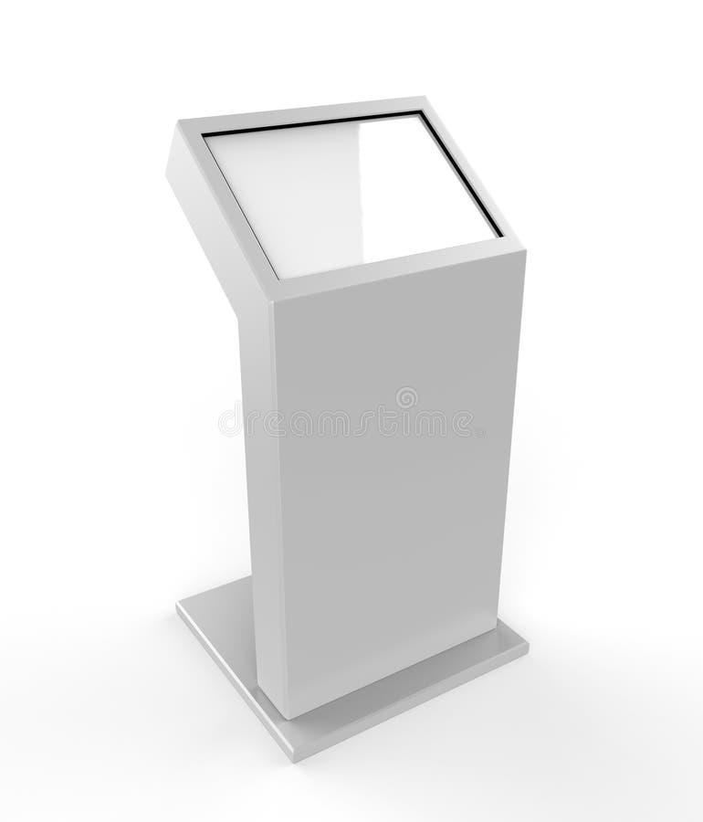 Μίνι ελεύθερο πάτωμα που στέκεται το περίπτερο οθόνης αφής LCD η τρισδιάστατη απεικόνιση δίνει ελεύθερη απεικόνιση δικαιώματος