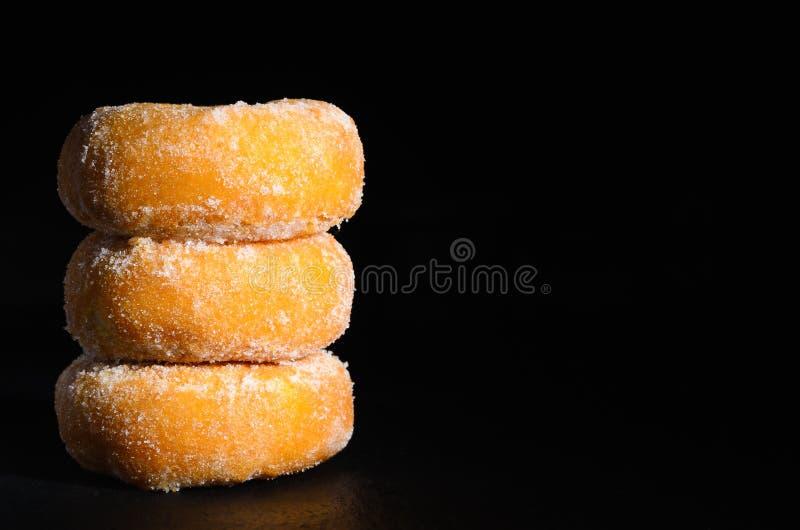 Μίνι ζάχαρη donuts στοκ εικόνες