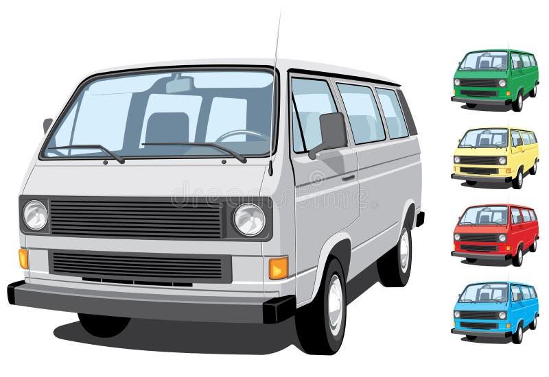 μίνι φορτηγό ελεύθερη απεικόνιση δικαιώματος