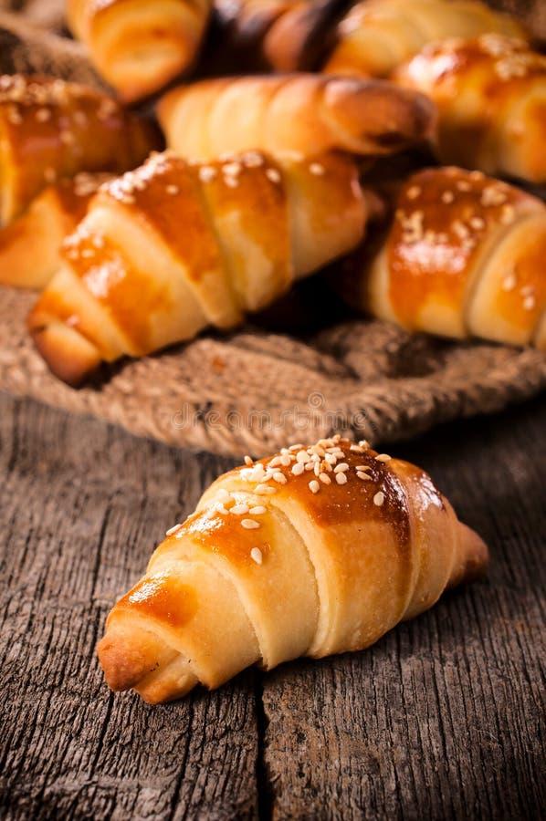 Μίνι croissant στοκ εικόνα με δικαίωμα ελεύθερης χρήσης