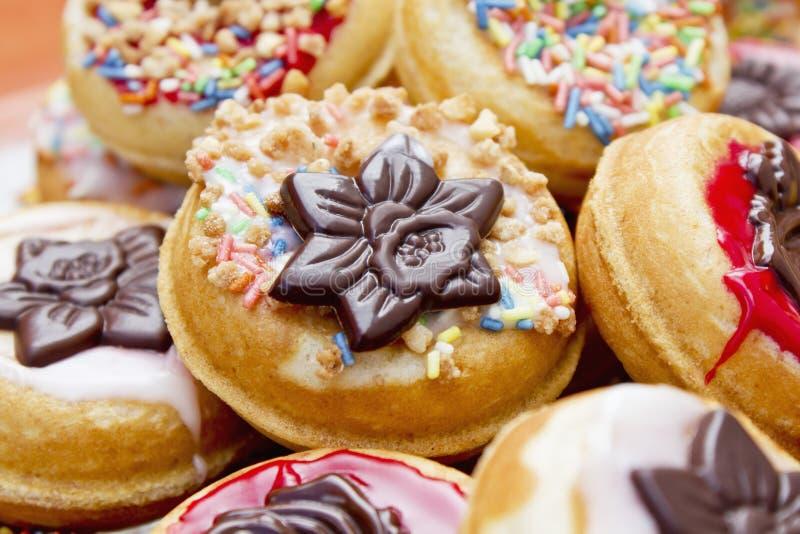 Μίνι donuts στοκ εικόνες