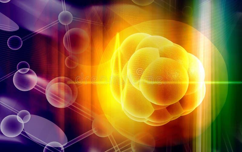 μίσχος κυττάρων ελεύθερη απεικόνιση δικαιώματος