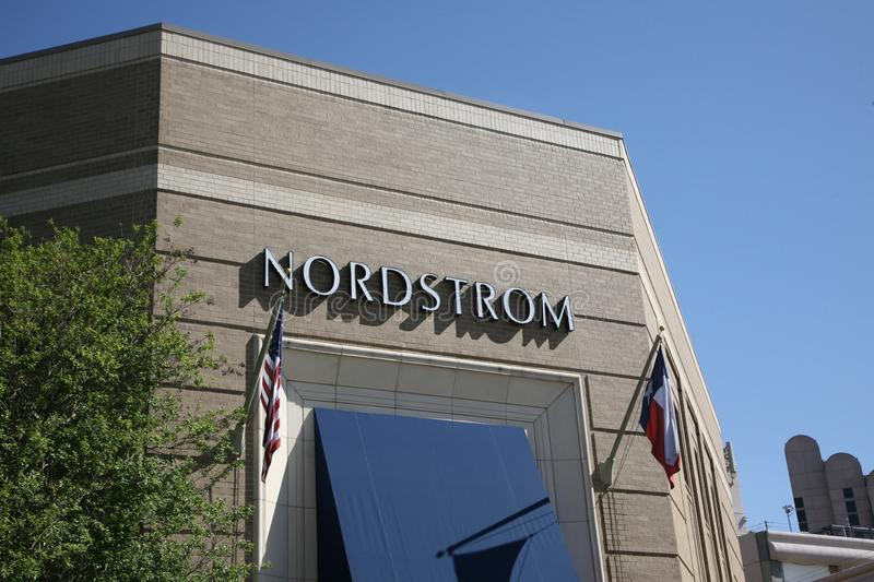 Μαγαζί λιανικής πώλησης Nordstrom στοκ εικόνες
