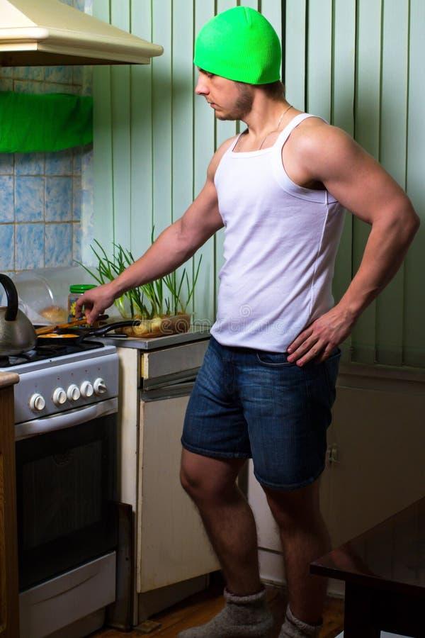 Μαγείρεμα ατόμων ικανότητας στοκ εικόνα με δικαίωμα ελεύθερης χρήσης