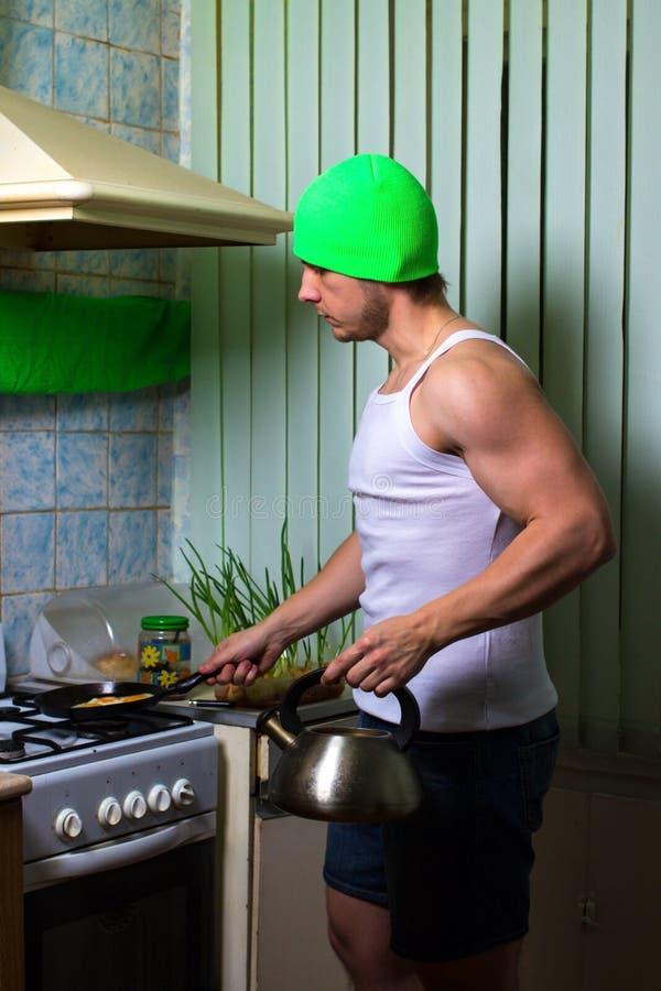 Μαγείρεμα ατόμων ικανότητας στοκ φωτογραφία με δικαίωμα ελεύθερης χρήσης