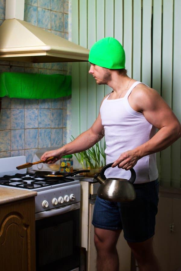 Μαγείρεμα ατόμων ικανότητας στοκ φωτογραφίες