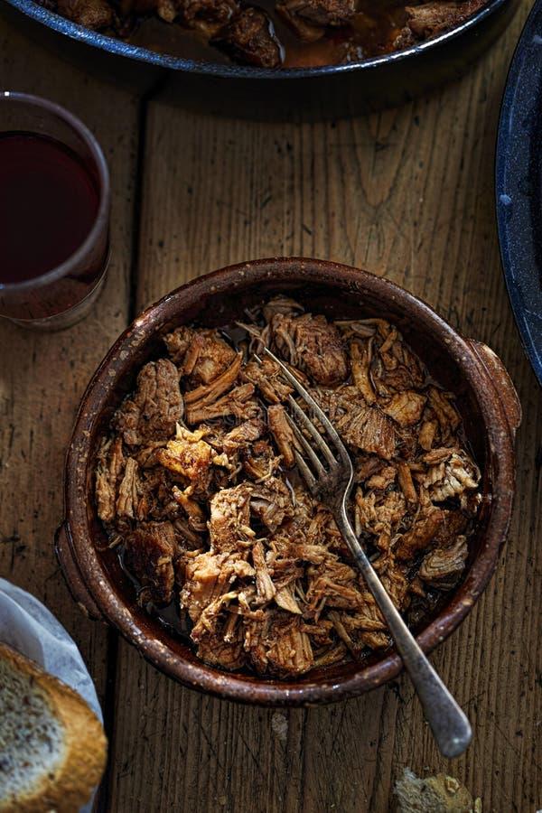 μαγειρευμένο κρέας αργό στοκ φωτογραφία με δικαίωμα ελεύθερης χρήσης