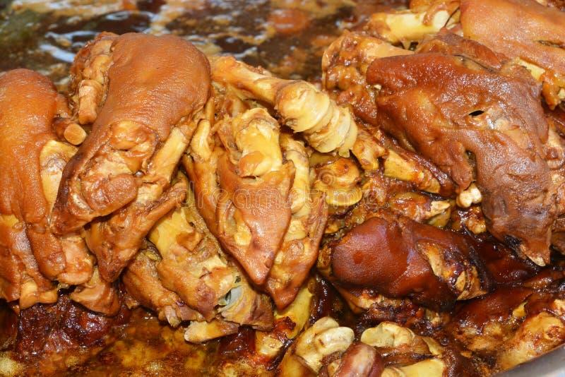 Μαγειρευμένο πόδι χοιρινού κρέατος στοκ φωτογραφίες με δικαίωμα ελεύθερης χρήσης