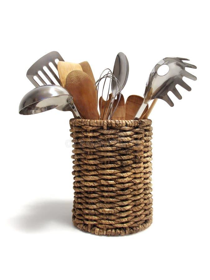 μαγειρεύοντας εργαλεία στοκ εικόνα