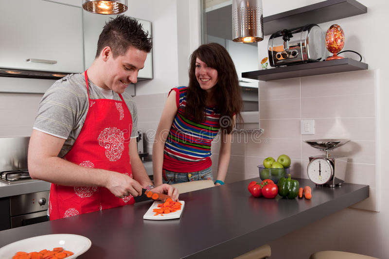 μαγειρεύοντας κουζίνα &zet στοκ εικόνες