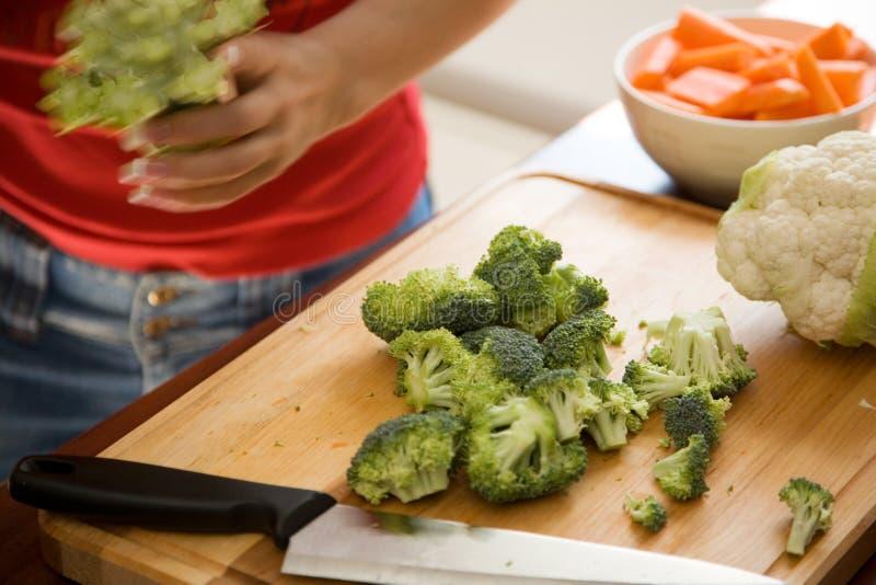μαγειρεύοντας τρόφιμα υ&gamm στοκ εικόνες με δικαίωμα ελεύθερης χρήσης