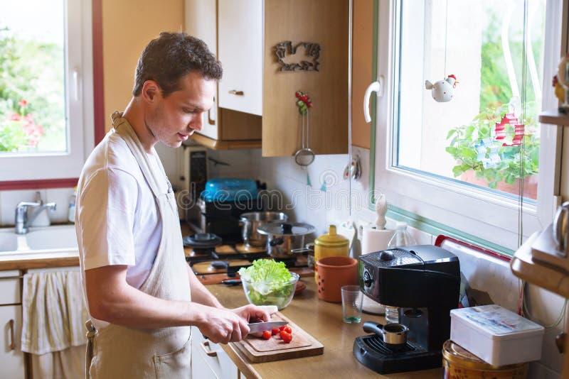 μαγειρεύοντας τρόφιμα υ&gamm στοκ φωτογραφίες