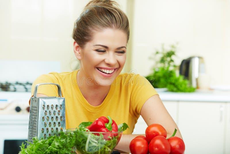μαγειρεύοντας υγιής γυ στοκ εικόνα