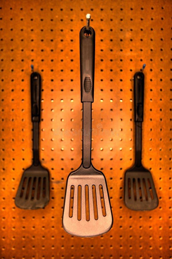 μαγειρεύοντας spatulas στοκ φωτογραφία με δικαίωμα ελεύθερης χρήσης
