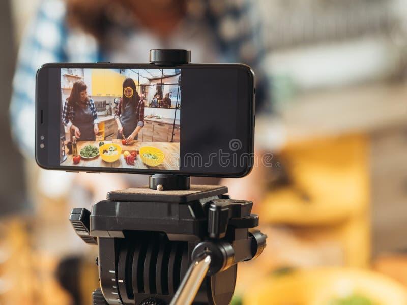 Μαγειρική κύρια κατηγορία οικογενειακού μαγειρεύοντας χόμπι blog στοκ εικόνες με δικαίωμα ελεύθερης χρήσης