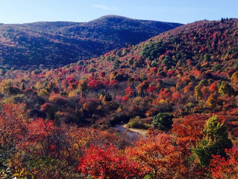 Μαγικά βουνά το φθινόπωρο στοκ φωτογραφία με δικαίωμα ελεύθερης χρήσης