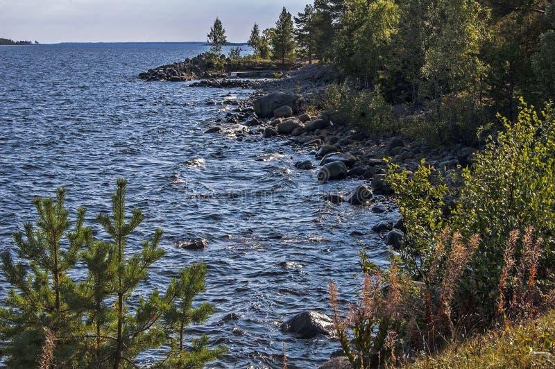Μαγικά βόρεια σύνορα witn Φινλανδία της Σουηδίας στοκ φωτογραφία με δικαίωμα ελεύθερης χρήσης