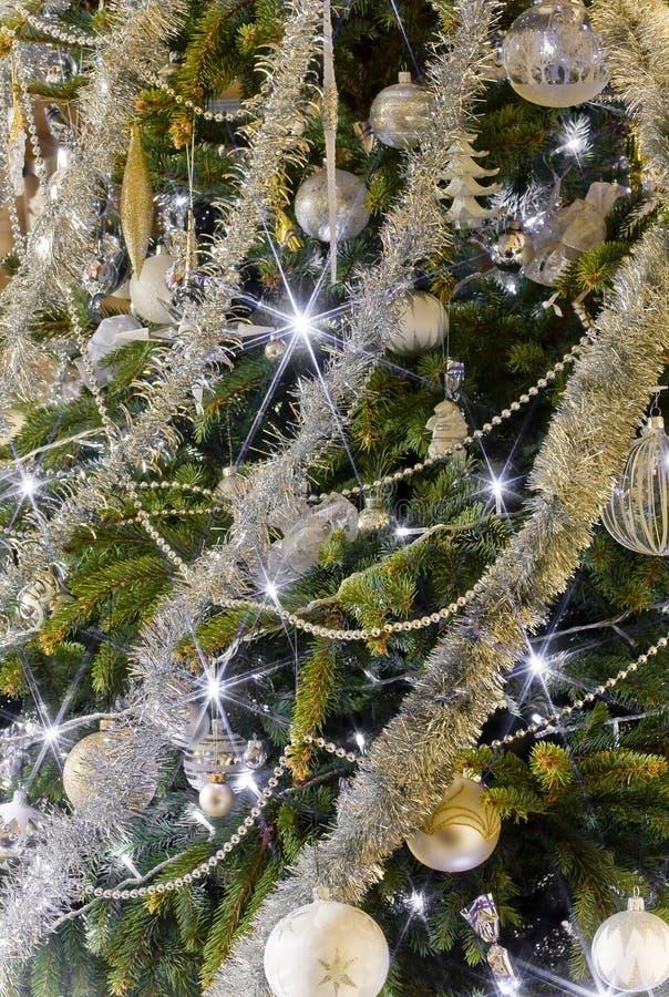 μαγικά Χριστούγεννα δέντρων στοκ εικόνα με δικαίωμα ελεύθερης χρήσης