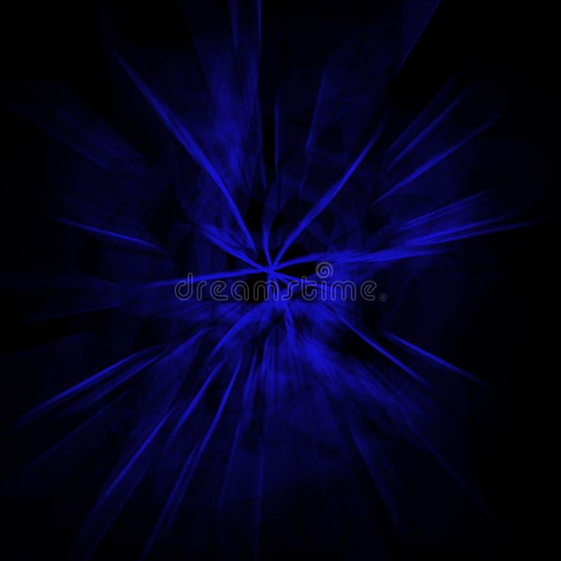 Μαγικές ελαφριές ακτίνες στοκ φωτογραφία